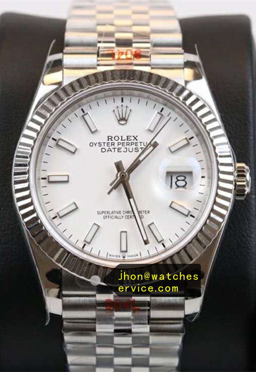 Fake Rolex Datejust White 41mm m126334-0009