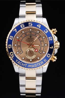Rolex Yacht-Master II rl234 Gold bezel black dial hero of choice