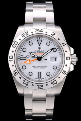 Rolex Cheap Explorer 0846B Stainless Steel Bezel White Dial Tachymeter