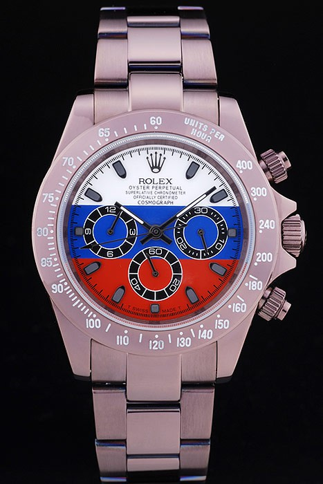 Best Rolex Oyster Perpetual White Blue And Red Plate Special Edition