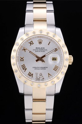 Rolex Datejust rl326 Gold diamond bezel