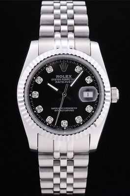 Rolex Black diamond scale dial rl320