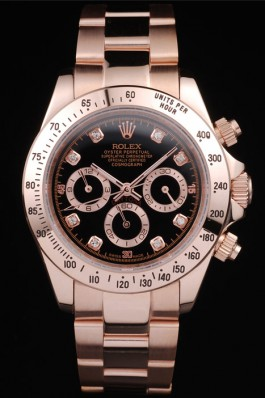 Rolex Daytona Rose GoldPlated Quick speed later 058
