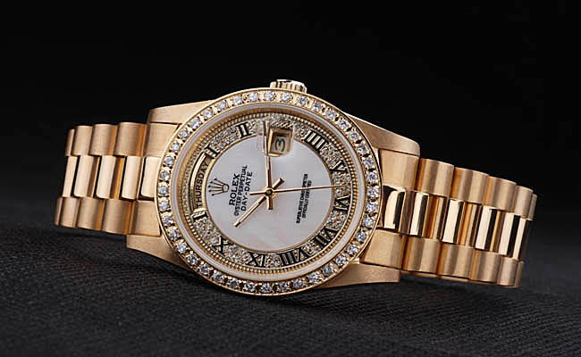 Rolex Day Date Gold Swiss Fake Sale 4830