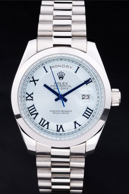 Rolex Day-Date Ice blue color most suitable for summer watch 4821