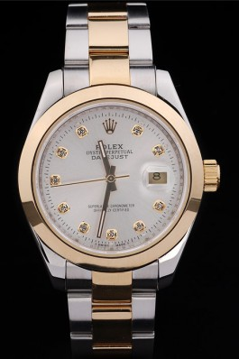 Rolex Datejust Light 18k gold bezel 4769