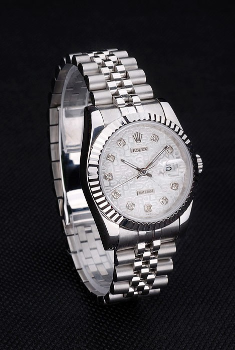 Rolex Datejust The most extravagant diamond silver models look 4759