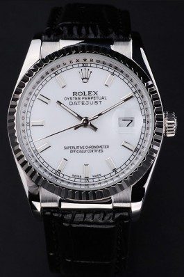 Luxury Rolex Datejust 4755 Black Starp