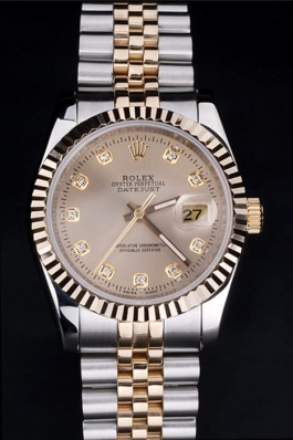 Rolex Datejust Grey Diamond dial pointer 4732
