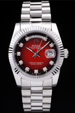 Best Swiss Replica Rolex Day-Date Red watch dish 4798