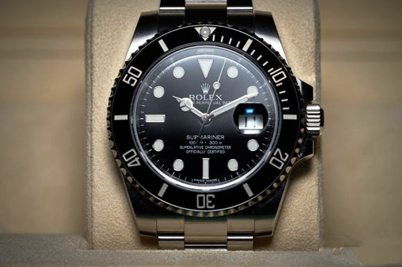 Black Replica Rolex Submariner