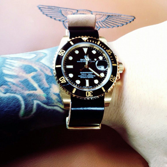 Rolex Submariner 116618 Replica with starp