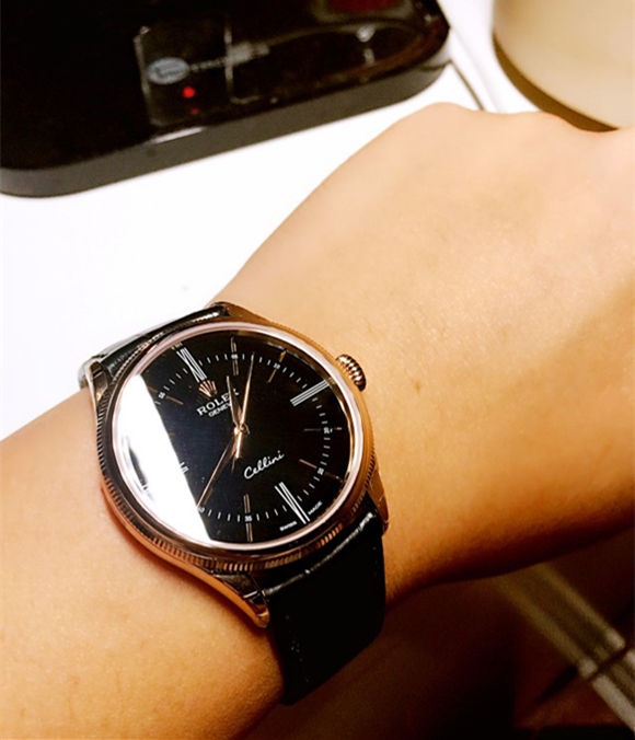 fake black rolex cellini 50509 watch