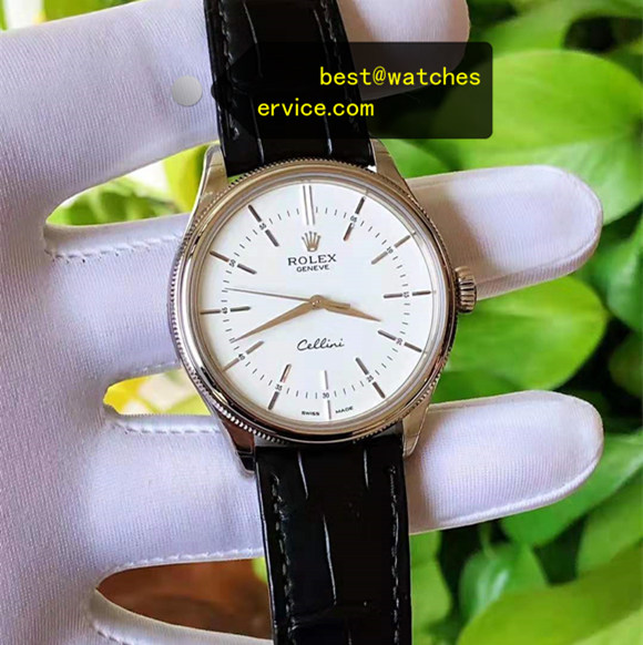 White Face Replica Rolex Cellini m50509-0017 Watch