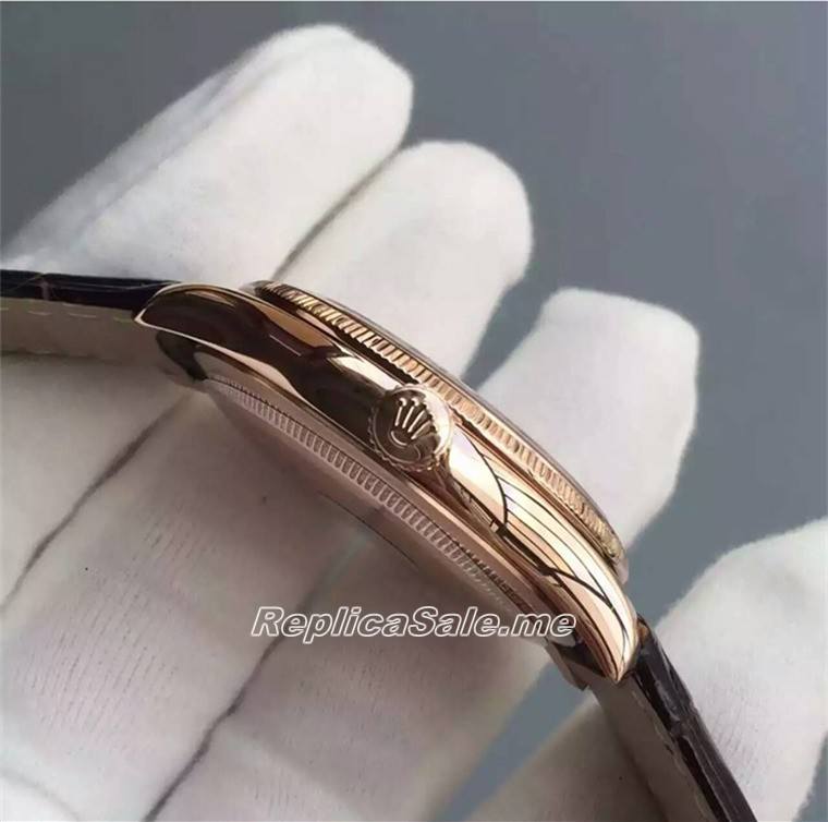 Rolex Cellini 50509 Gold Watch Ring 042B