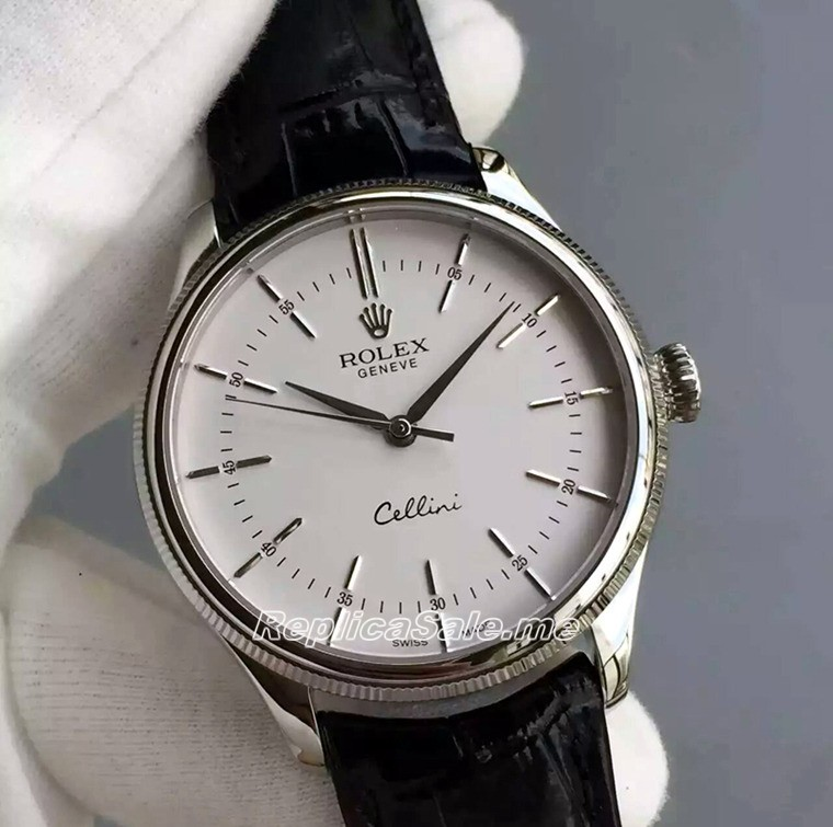 Rolex Cellini Series 50509 Watch White Plate