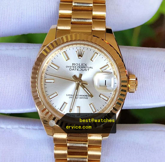 1:1 28mm Lady Replica Rolex Datejust 279178-63348 Watch