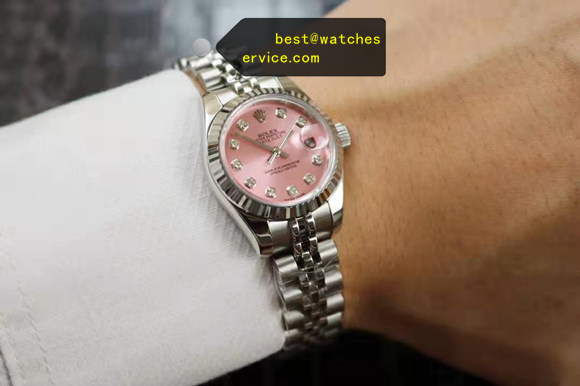 28mm Pink Lady Replica Rolex Datejust m279174 Watch