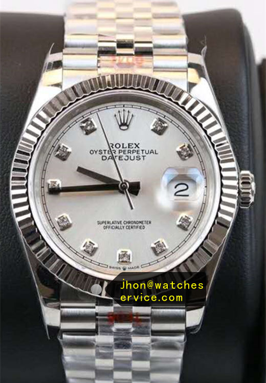 36 MM Fake Datejust White Face m126234