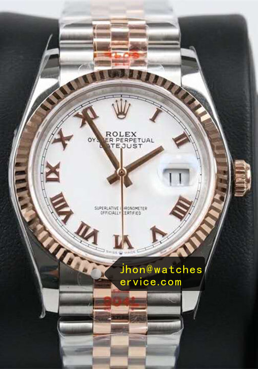 41MM Replica Datejust m126334-0023 Gold Steel