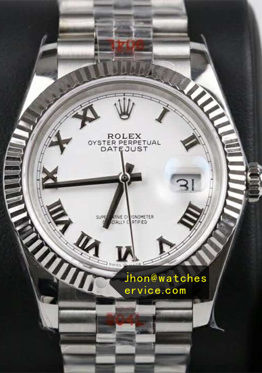 41MM Replica Datejust m126334-0023 White Face