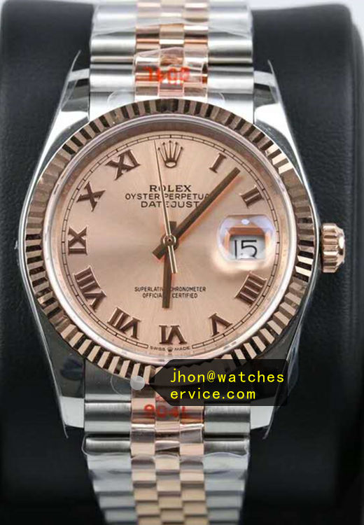 41MM Replica Datejust m126334 Champagne