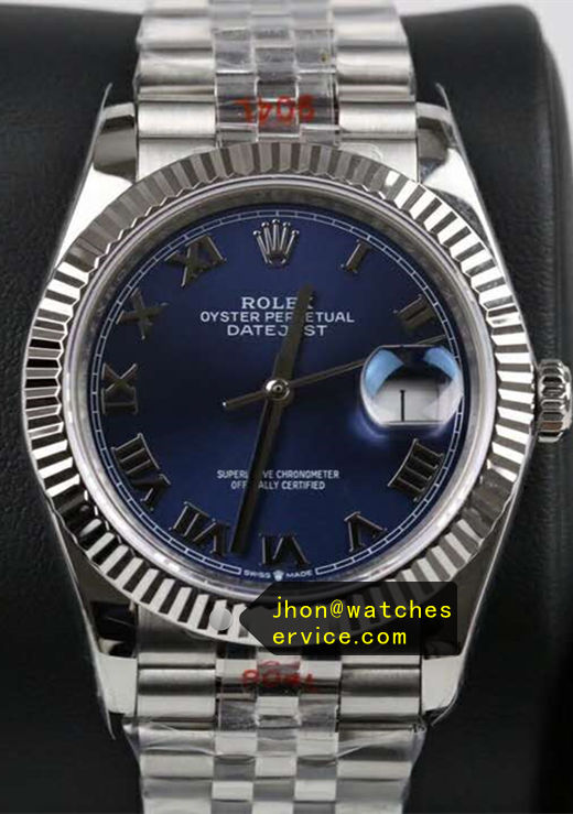Blue Fake Rolex Datejust 41mm m126334