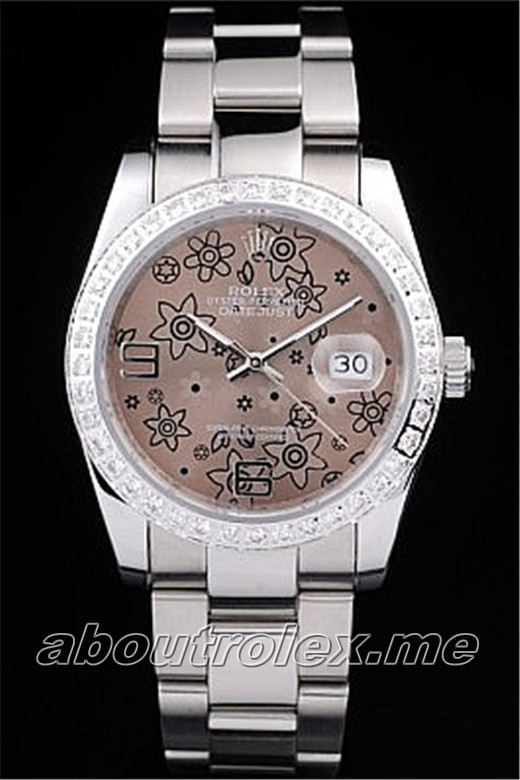 Cheap Ladies Rolex Datejust Replica 116243-72603 Bronze Plate Watch