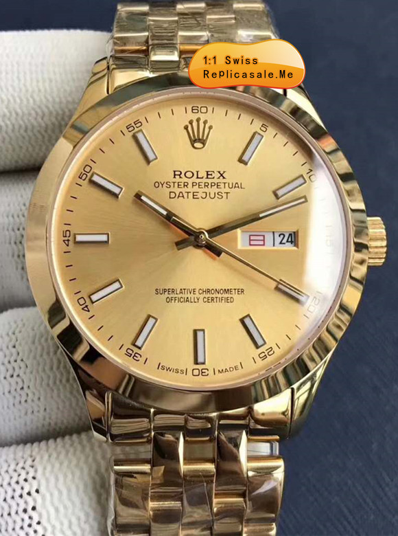 Rolex Datejust All Rose Gold 112AQ