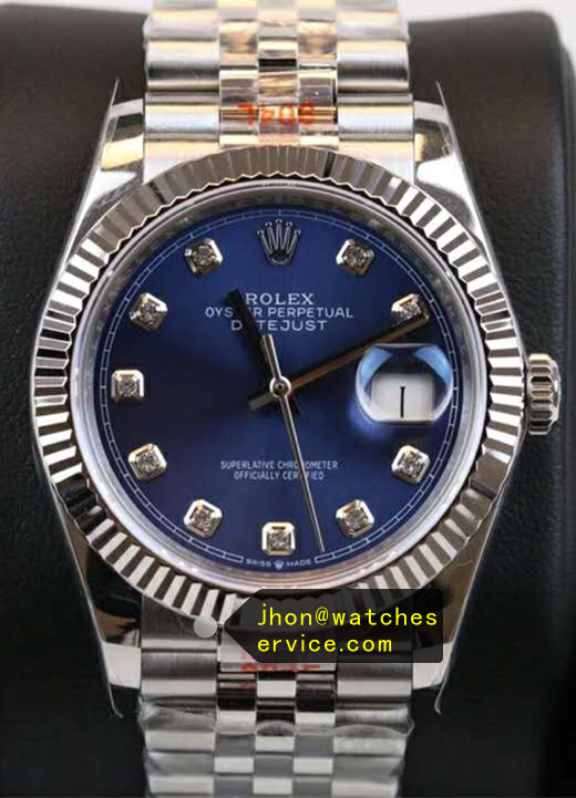 Fake Rolex Datejust Blue 36mm m126234-0038