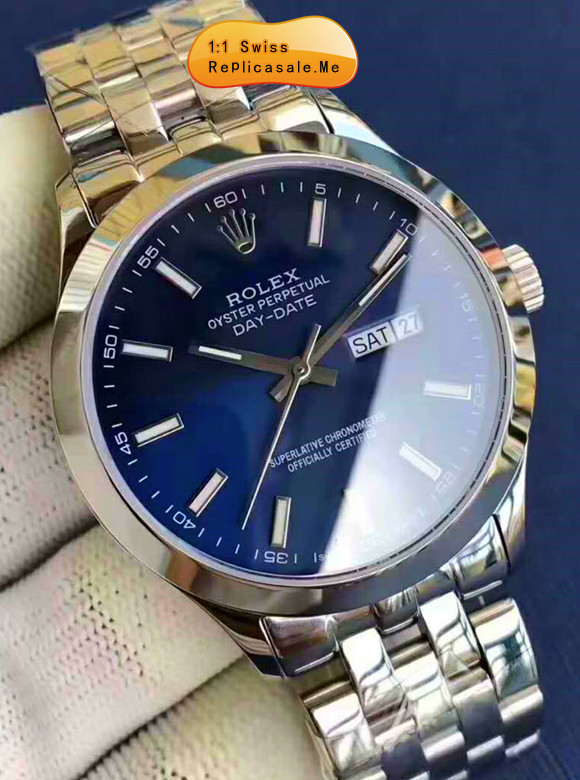 Rolex Datejust Navy Blue Face Using 914L Steel