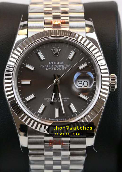 Gray Rolex Datejust Replica 41mm m126334-0014