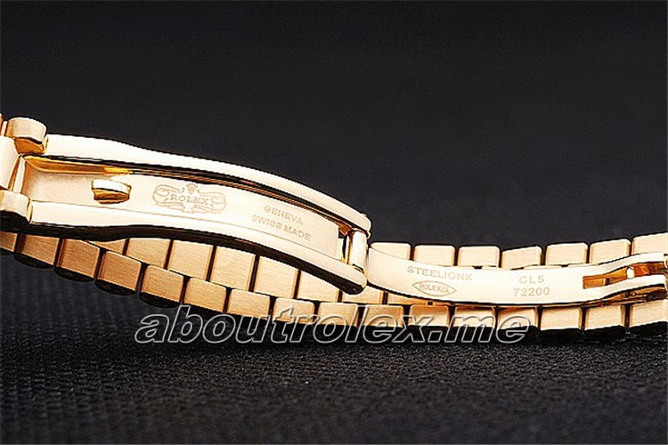 Luxury Ladies Rolex Datejust Replica 76A Flip Clasp