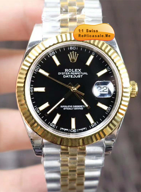 Rolex Datejust 126333 Special Commemorative Black Face 089R