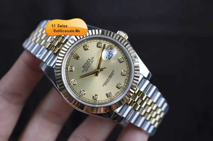 Rolex Datejust 126333 Champagne Face Triangle Pit Outer Ring 14027