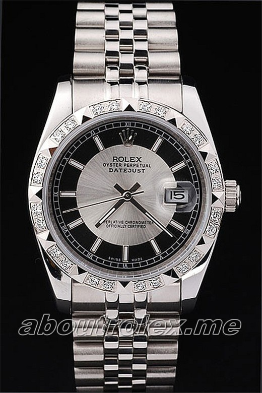 Best Quality Men's Rolex Datejust Replica 116234 Silver