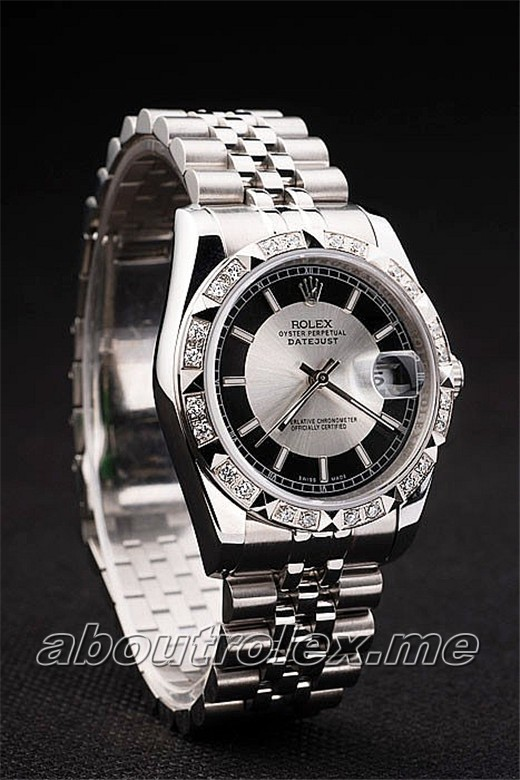 Best Quality Men\'s Rolex Datejust Replica 116234 Silver