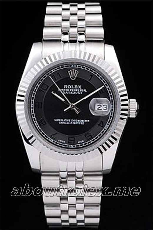 Cheap Rolex Datejust Replica 76N cutwork crown