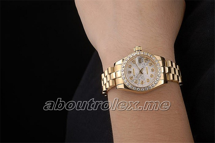 Ladies Rolex Datejust Replica 179138-83138 G Queen dedicated