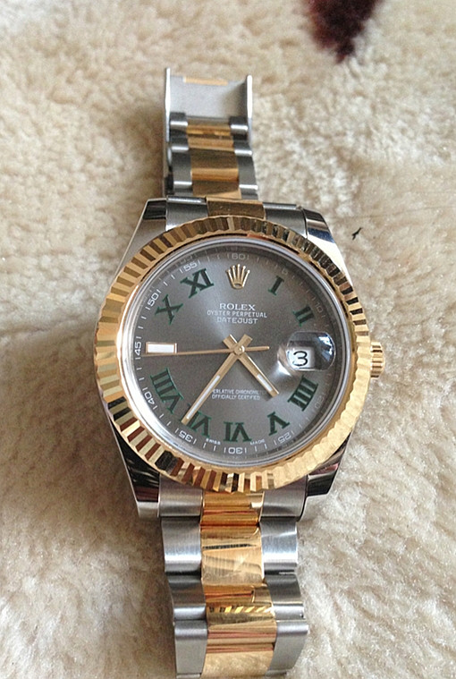 Replica Rolex Datejust 6333-72213 Dark Gray Plate