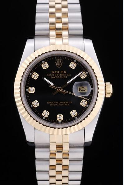rolex-datejust-black-dial-diamonds 085A