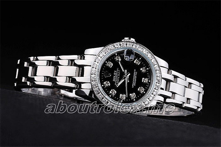 Ladies Rolex Datejust Replica 81299-72849 G Diamonds