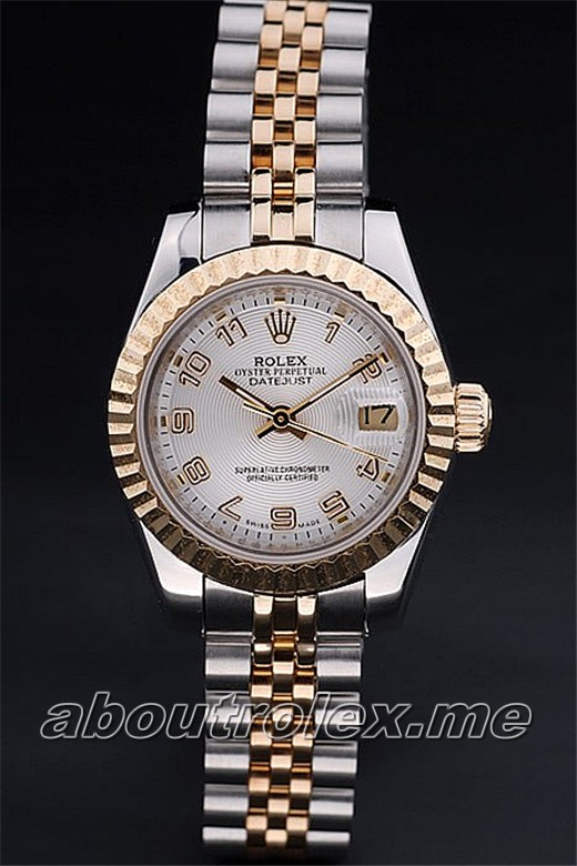Rolex Datejust Replica 049U yellow gold
