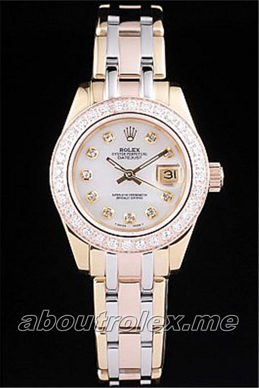 Rolex Datejust Replica 079F 18k rose-gold