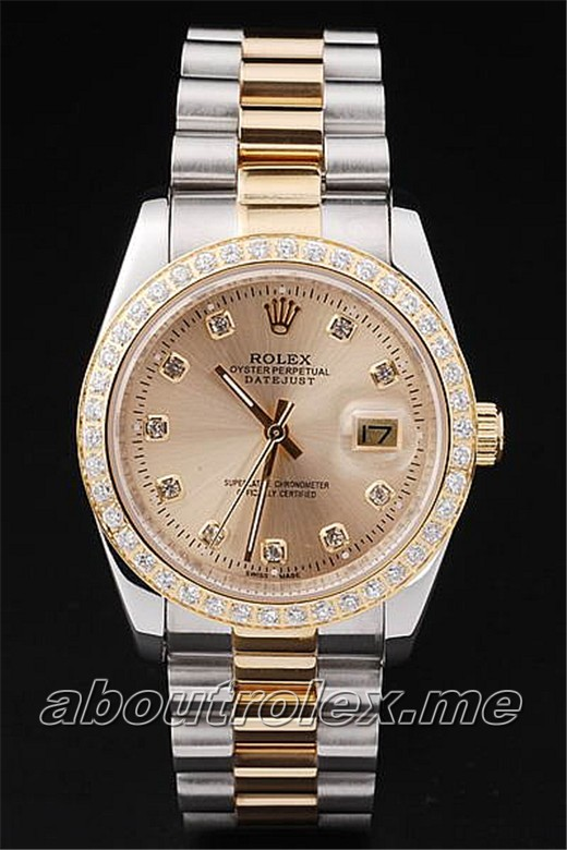 Rolex Datejust Replica 1589A Glass Sapphire Crystal