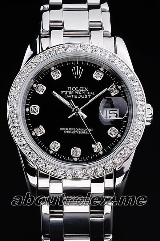Men's Rolex Datejust Replica 81299-72849 G Diamonds watch