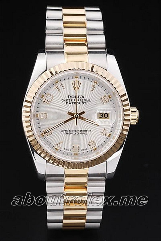 Rolex Datejust Replica 4709SD 18k yellow goldCase