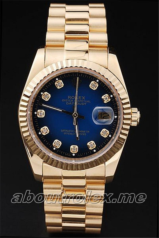 Men's Rolex Datejust Replica 4718B Green Rolex sticker