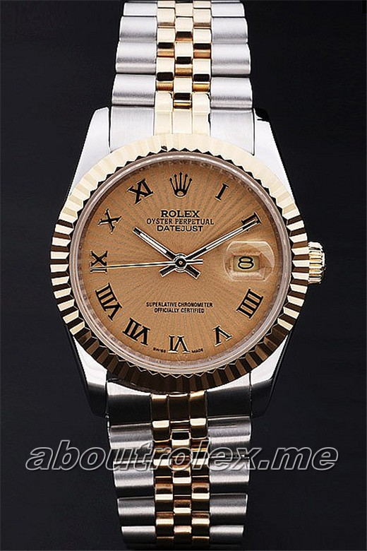 Rolex Datejust Replica 63A 18k yellow gold