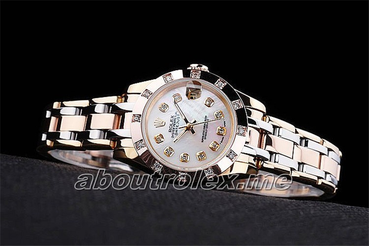Rolex Datejust Replica 80A Two toned fancy